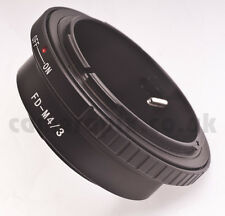 Canon FD Lens to Micro 4/3 m4/3 Four Thirds Mount Adapter ring Olympus Panasonic