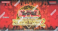 YUGIOH RETRO PACK 2 BOOSTER BOX EURO EXCLUSIVE BLOWOUT CARDS