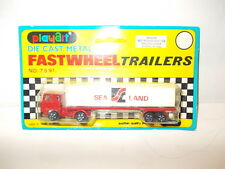 Playart Fastwheel Trailers - Sea Land container truck - Mint in blister