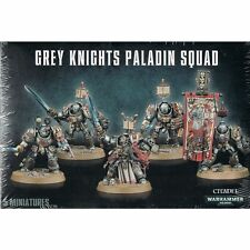 GREY KNIGHTS PALADIN SQUAD - WARHAMMER 40,000 40K - GAMES WORKSHOP - DAMAGED
