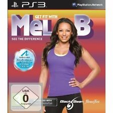 Sony PS 3 PS3 Spiel Get Fit with Mel B Move Kompatibel Neu