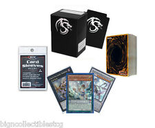 *60* YuGiOh! Cards Pack with Pendulum, XYZ & Synchro + Rares + Deck Box, Sleeves