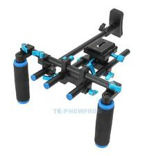 F14123 Commlite Video Stabilizer Shoulder Mount Rig for DSLR Camera Camcorder