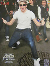 Niall Horan, One Direction, Zayn Malik, Double Full Page Pinup