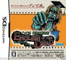 Used DS Zombie Shiki of the Dead Sega English  NINTENDO JAPANESE IMPORT