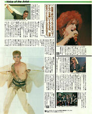 BALTIMORA Japanese press mag article 1986 - 1 page Japan magazine - ITALO DISCO