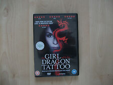 The Girl With The Dragon Tattoo (DVD, 2010)