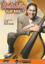 Learn To Play Rockabilly Slap Bass Lesson Rocker DVD Upright Double Pulls TUTOR