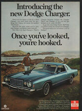 1976 TOM SELLECK - MAGNUM PI - BLUE BLOODS -DODGE CHARGER DAYTONA Car VINTAGE AD