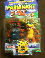 NEW King Bowser Action Figure Mario Kart 64 In Box By Nintendo 1999 Toy Biz N64