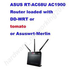 Asus RT-AC68U AC1900 Wireless Router w/ DD-WRT or tomato or Asuswrt-merlin FW