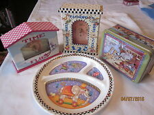 lot of children's Mary Engelbreit Clocks,tin and plate