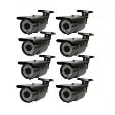 "1300TVL 1/3"" Sony CMOS 72IR Outdoor 2.8-12mm Zoom 8 Surveillance Security Camera"