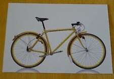 CYCLEPEDIA  POSTCARD ~ ICONIC BICYCLES ~ WORLDSCAPE CO.LTD ~ AITELEN CHAINLESS