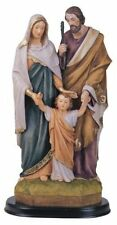 12 Inch Holy Family Jesus Christ Mary Joseph Statue Figure Figurine Religious