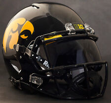 "IOWA HAWKEYES ""ANF"" NCAA Gameday REPLICA Football Helmet w/ OAKLEY Eye Shield"