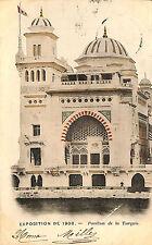 CPA PARIS EXPOSITION UNIVERSELLE WORLD FAIR PAVILLON TURQUIE VIGNETTE 1900
