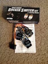 Black Backlit Cruise Acc Spot Switch Kit 2004-2013 Harley Electra Glide 70278-04