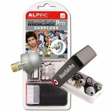 Alpine MusicSafe Pro filtered Music Safe Ear Plug Hearing Protection Silver BNIB