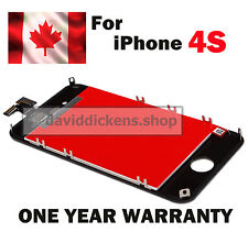 For Black iPhone 4S Replacement LCD Digitizer Touch Screen Glass Assembly+Tool