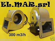 Ventilatore Centrifugo Motore elettrico 85 W Monofase 300 m3/h