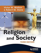 GCSE Religion and Society RS RE Textbook Victor W Watton Third Edition