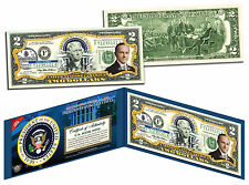 CALVIN COOLIDGE * President 1923-1929 * Colorized $2 Bill US Legal Tender