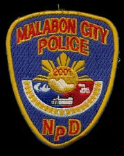 PNP Philippine Police Malabon City Patch RP-3