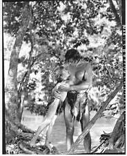 LOT #2: TARZAN FINDS A SON -- 8 x 10 photo Johnny Weissmuller & Johnny Sheffield