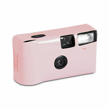 Pretty Pastel Pink Disposable Camera Wedding Favour Party Accessory 10 Pack