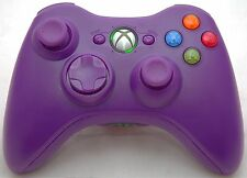 NEW Microsoft XBox 360 Purple Wireless Video Game Controller cordless handh