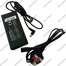 SONY VAIO PCG-91211M AC ADAPTER CHARGER 19.5V 4.7A + 3 PIN UK Mains Cable