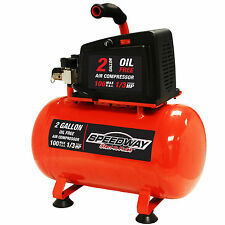 Speedway 2-Gallon Oil Free Air compressor- Hotdog style MPN/Model 7517