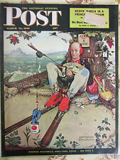 Saturday Evening Post March 1945 J.D. SALINGER (Catcher in the Rye) collectable