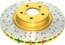 DBA CROSS-SLOTTED DRILLED DBA4984XS Front Disc Brake Rotor BMW M3 Z3 95-02