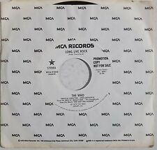 THE WHO promo 45 MCA 41053 Long Live Rock NM