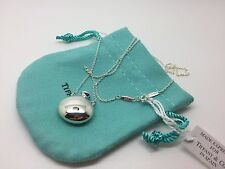 Tiffany & Co Sterling Silver Elsa Peretti Jug Charm Pendant Necklace 18 inch
