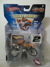 2003 HOT WHEELS MOTO X #2 JEREMY MCGRATH KTM 250 SX ORANGE HOT WHEELS GRAPHICS