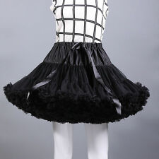 TUTU Skirt Petticoat Cosplay Pettiskirt Crinolines Fluffy Dance Skirt Costume