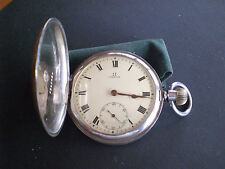 OMEGA FOB Sterling Silver Watch