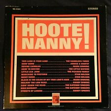 """VARIOUS """"Hootenanny! The Do-It-Yourself Folk Sing!"""" MGM SE 4154"""