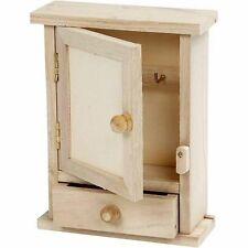 Mini key cabinet with drawer WC370 small little baby dinky storage