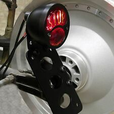 "BLACK FORD DUO DUOLAMP ""STOP""SIDE MOUNT TAIL LIGHT HARLEY TRIUMPH BOBBER CHOPPER"