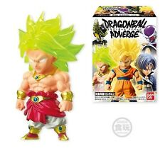 Bandai Dragon Ball Z Kai Adverge Advage Box Broly Super Saiyan Mini Figure NEW