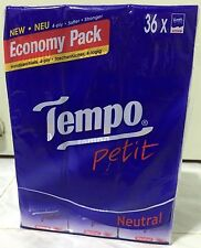 36 Packs of Tempo Pocket Tissues in Neutral