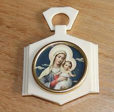 ancienne médaille de berceau vierge et l enfant