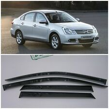 For Nissan Almera G11 Sd 2012-2017 Window Visors Sun Rain Guard Vent Deflectors