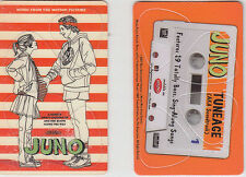 Juno promo plastic card (containing 4 guitar picks) RARE '07