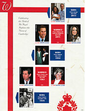Sierra Leone 2013 MNH Birth Prince George Royal Baby 5v M/S William Kate Windsor