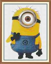 Minion 4 Cross Stitch Chart  x 12.0 x 9.2 Inches